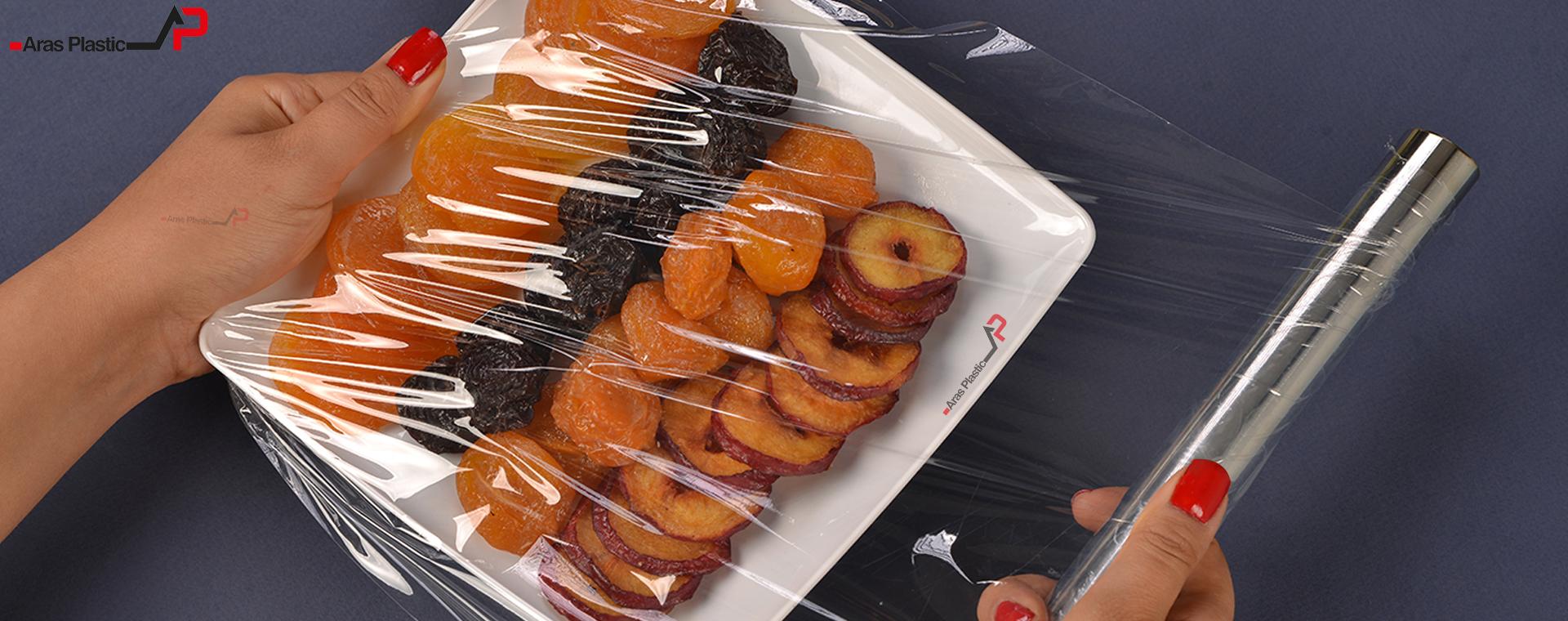 استرچ غذایی آراس پلاستیک